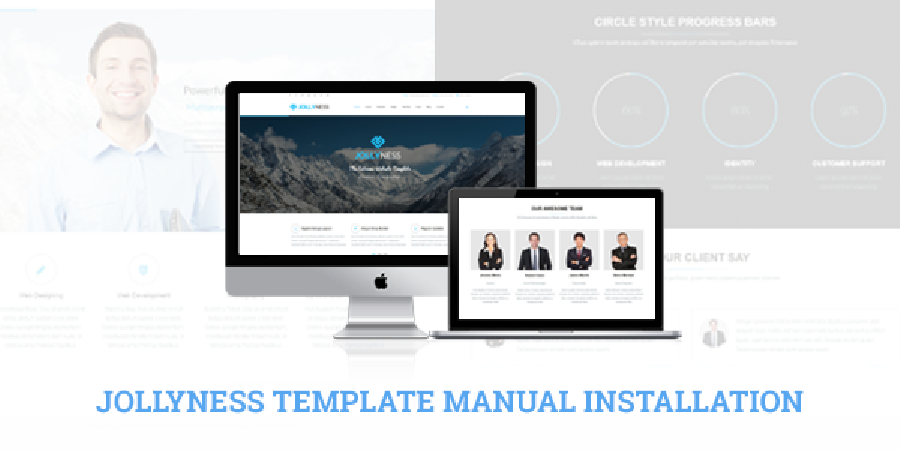 Tips to Install Jollyness Joomla Template Manually