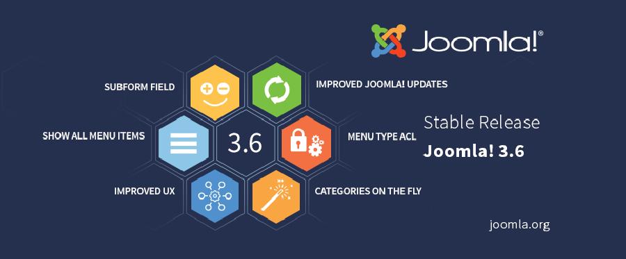 Joomla! 3.6 is Here