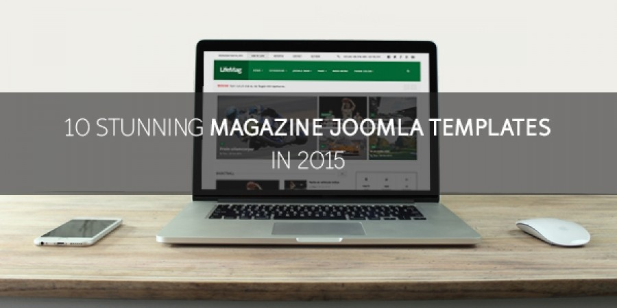 10 Stunning Magazine Joomla! Templates in 2015