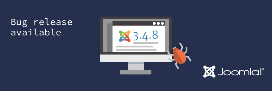 Joomla! 3.4.8 Released – A Bug Fix Release