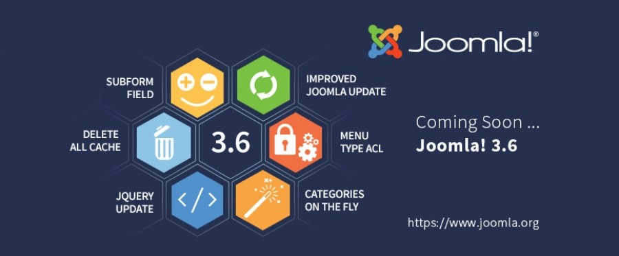 Joomla! 3.6 Beta 1 Released