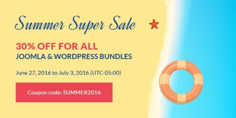 Summer Super Sale: 30% Off on All Subscriptions