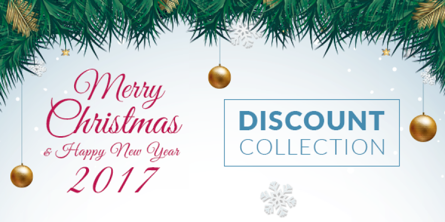 A collection of Big Discount Programs For Xmas 2016 & New Year 2017