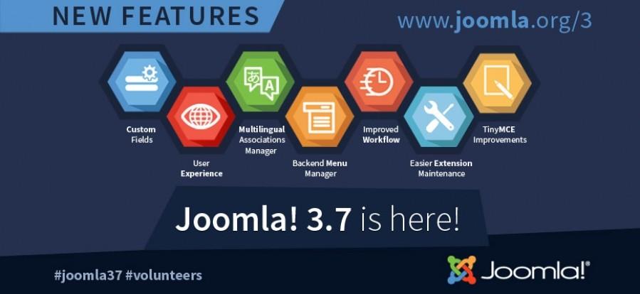 Joomla 3.7! New Release