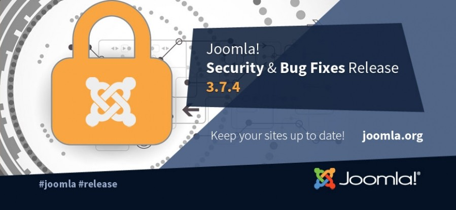 Joomla 3.7.4 is released!