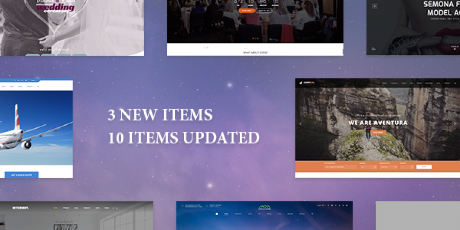 Weekend Updates: 3 New Items, 10 Items Updated