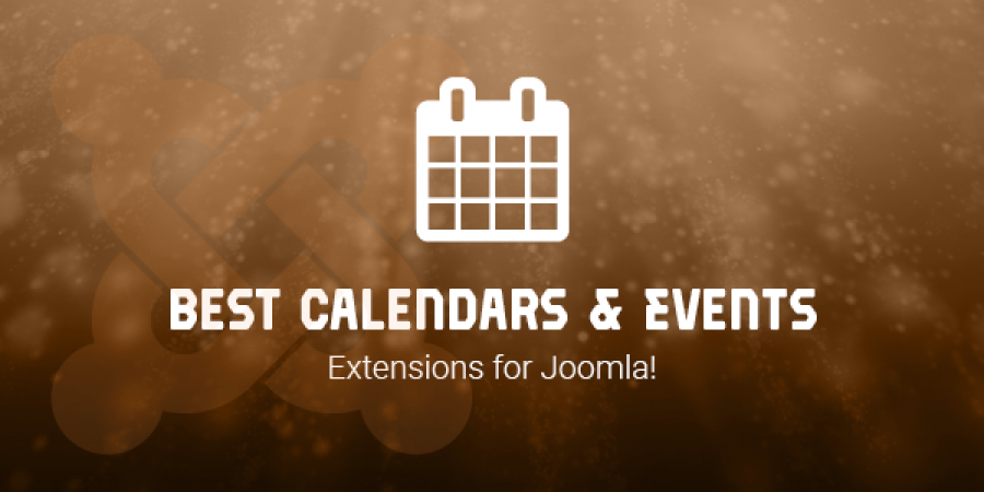 Best Calendars & Events Extensions for Joomla!