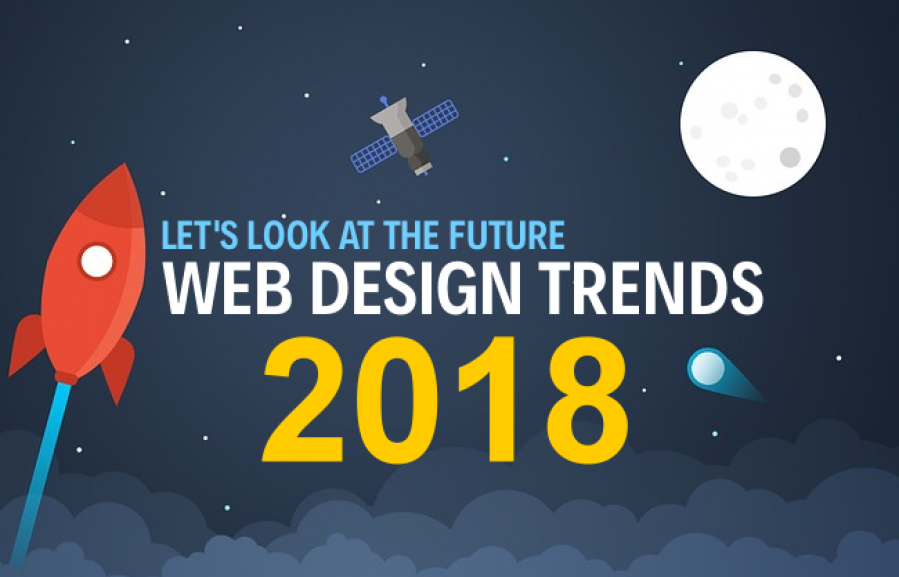 Outstanding trends of web-design in 2018