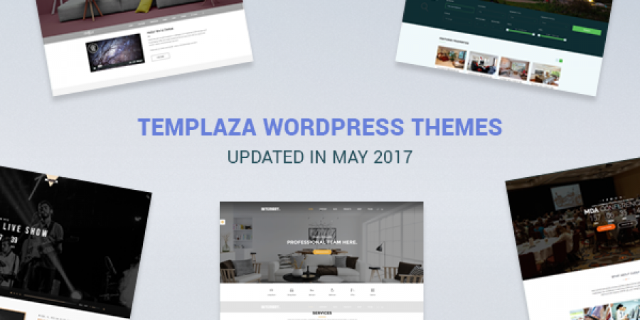 More WordPress Themes Updated In May 2017