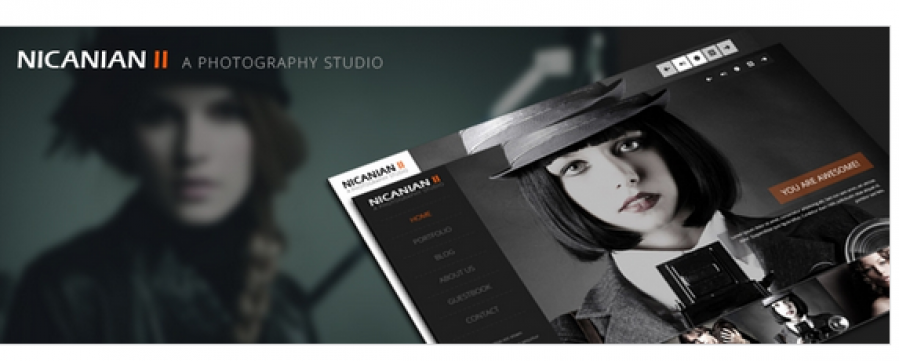 Nicanian II V1.1 - Responsive Wordpress theme was released