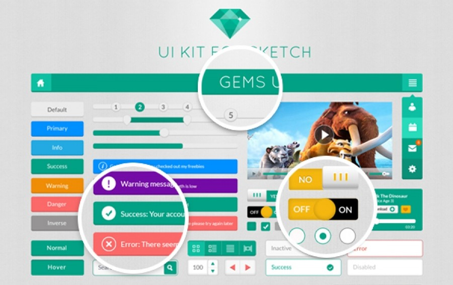 GEMS UI KIT