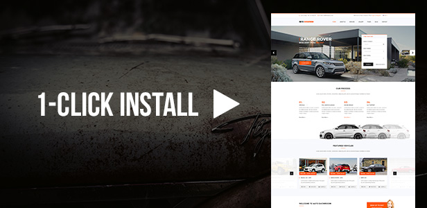 Auto Showroom - Car Dealership WordPress Theme - 1