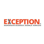 Exception - Multipurpose Joomla Template
