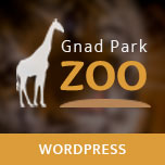 Gnad Park - Zoo WordPress Theme
