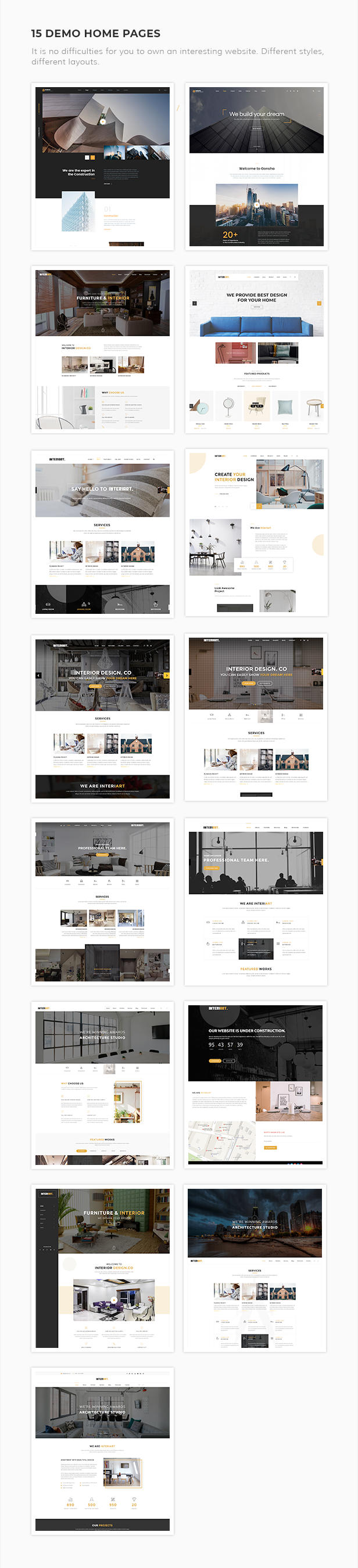 InteriArt - Furniture & Interior WordPress Theme - 4