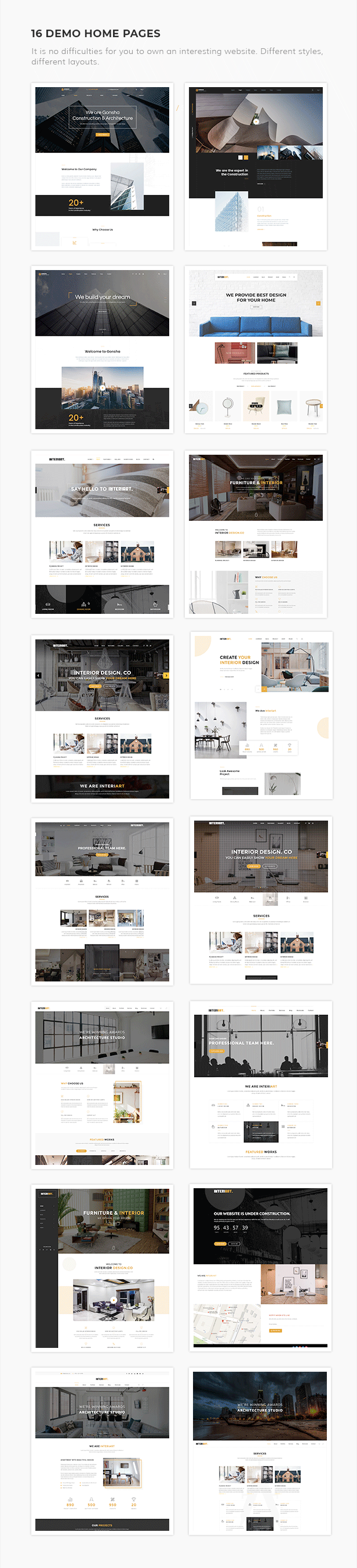 InteriArt - Furniture & Interior WordPress Theme - 4