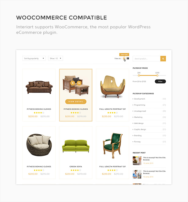 InteriArt - Furniture & Interior WordPress Theme - 6  Download InteriArt – Furniture & Interior WordPress Theme nulled interiart woocommerce