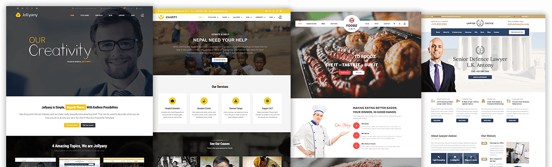 Best Portfolio Joomla! Templates | TemPlaza