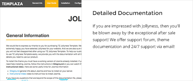 documentation - Jollyness - Business Joomla Template