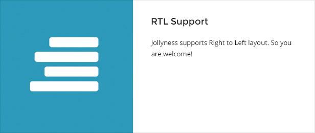 rtlsupport - Jollyness - Business Joomla Template