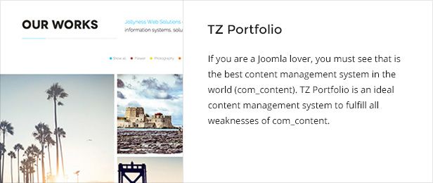 tzportfolio - Jollyness - Business Joomla Template