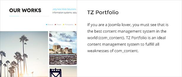 tzportfolio - Jollyness - Business Joomla Template