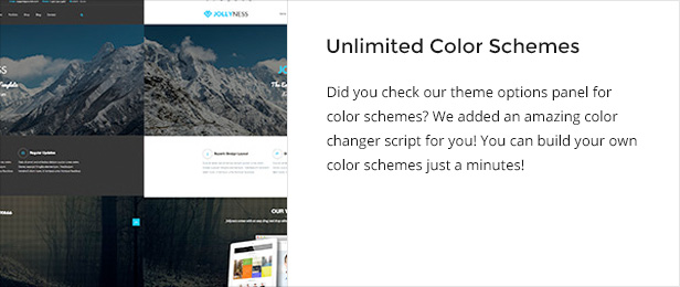 unlimitedcolor - Jollyness - Business Joomla Template