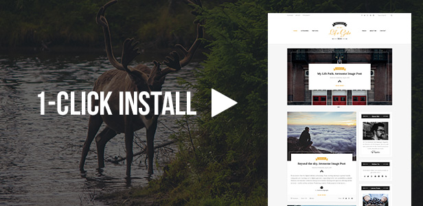 Life Gate - Vintage Personal Blog WordPress Theme