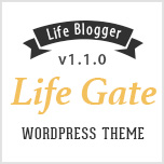 LifeGate - Vintage Personal Blog WordPress Theme