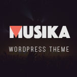Musika - Music Band WordPress Theme