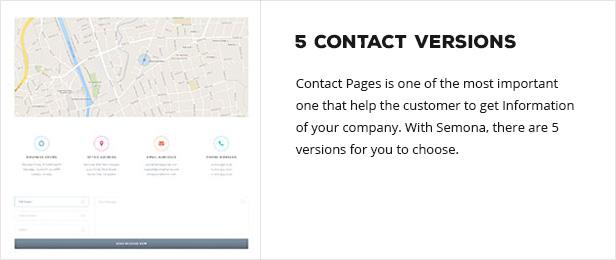 contactversions - Semona - Business Joomla Template