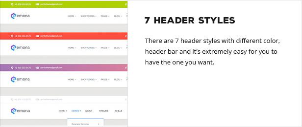 headerstyle - Semona - Business Joomla Template