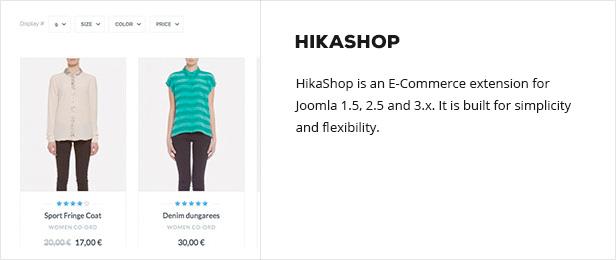hikashop - Semona - Business Joomla Template