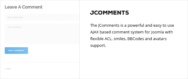 jcomments - Semona - Business Joomla Template