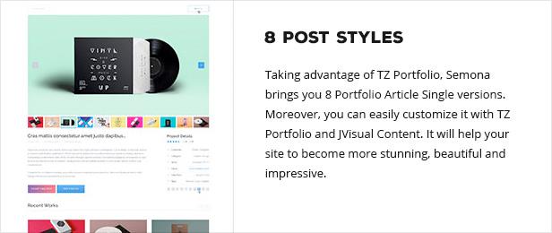 posttype - Semona - Business Joomla Template