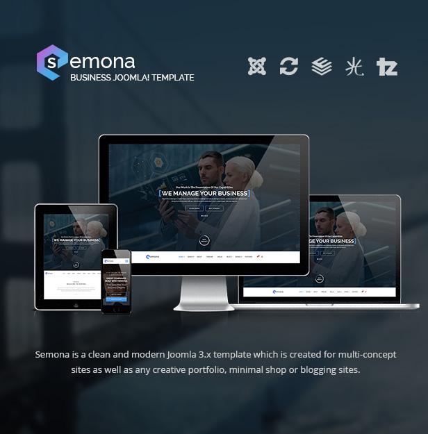 semona 616 - Semona - Business Joomla Template